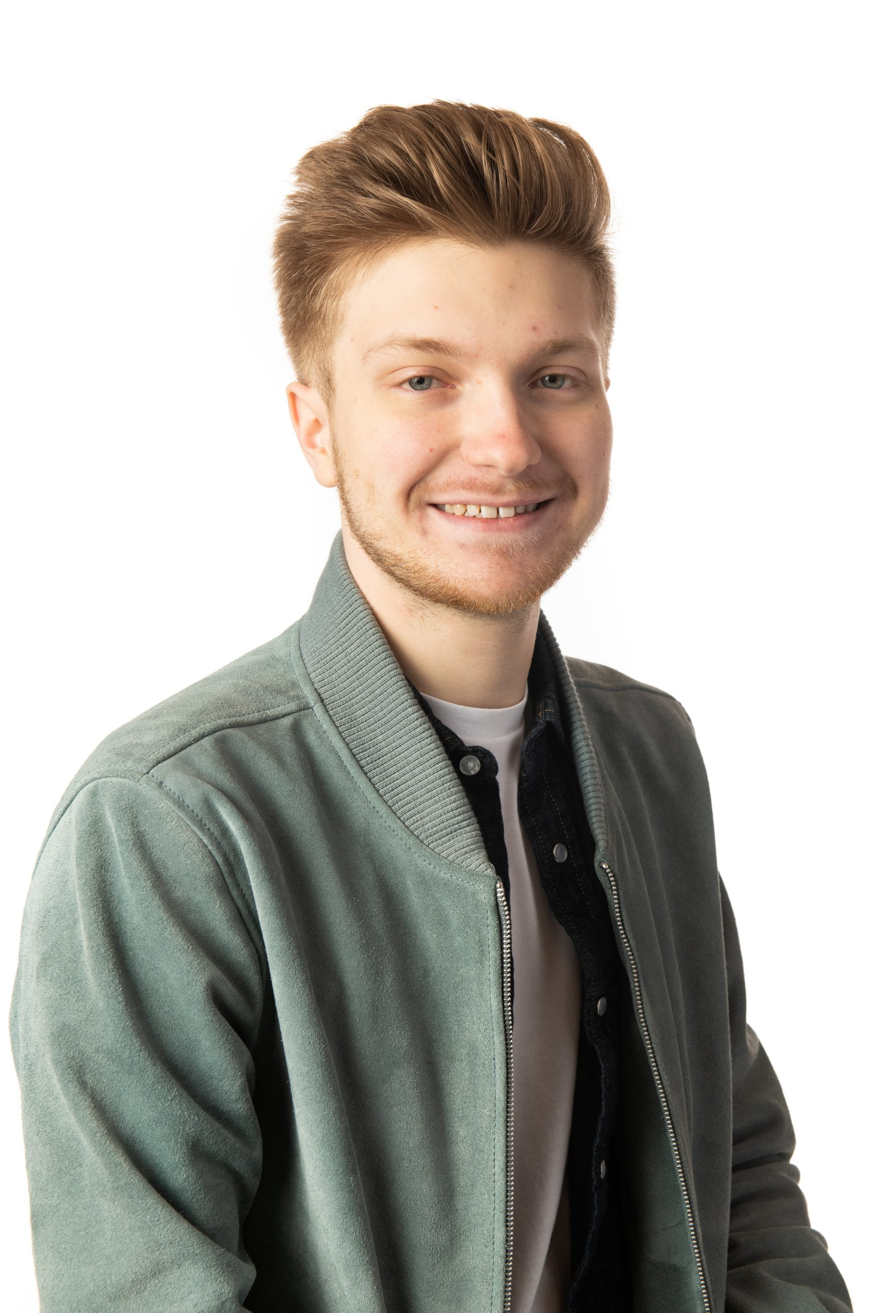 Headshot picture of a Game Design student student